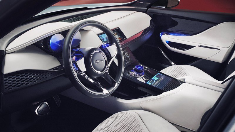 2016 JAGUAR XQ-Type Preview - C-X17 SUV INTERIOR 6