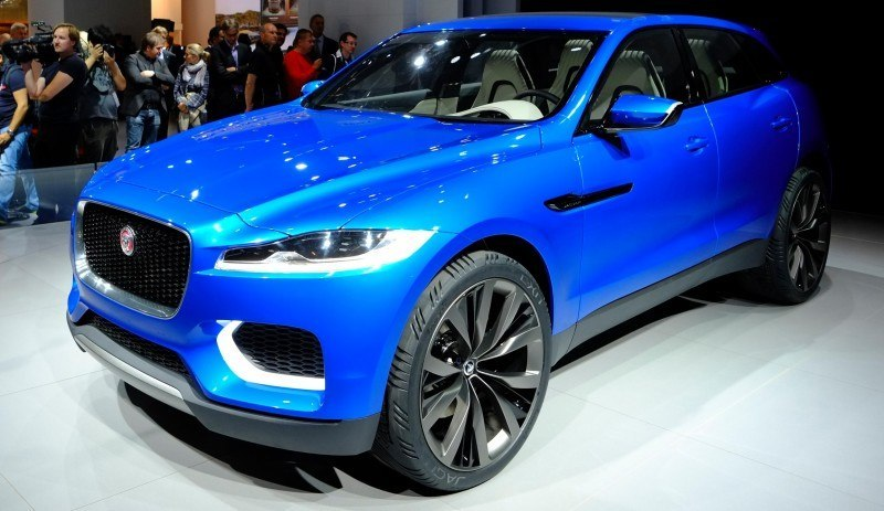 2016 JAGUAR XQ-Type Preview - C-X17 SUV in 150 Photos, 4 Colors 18