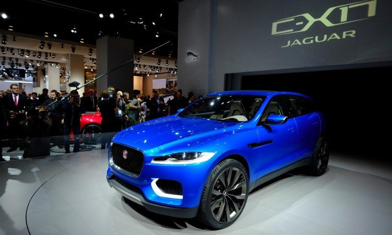 2016 JAGUAR XQ-Type Preview - C-X17 SUV in 150 Photos, 4 Colors 19