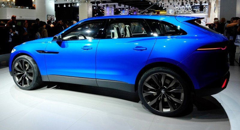 2016 JAGUAR XQ-Type Preview - C-X17 SUV in 150 Photos, 4 Colors 20