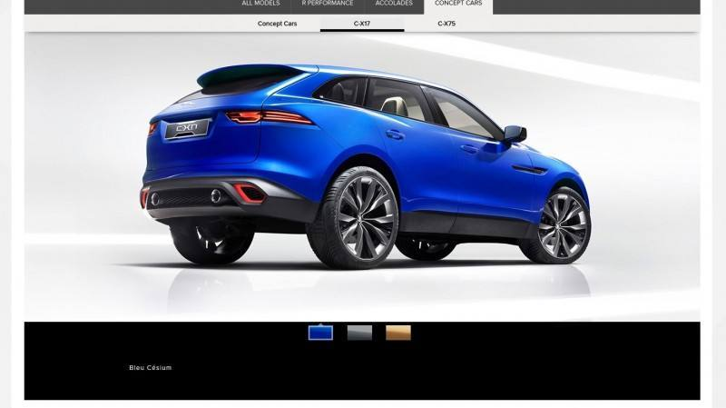 2016 JAGUAR XQ-Type Preview - C-X17 SUV in 150 Photos, 4 Colors 29