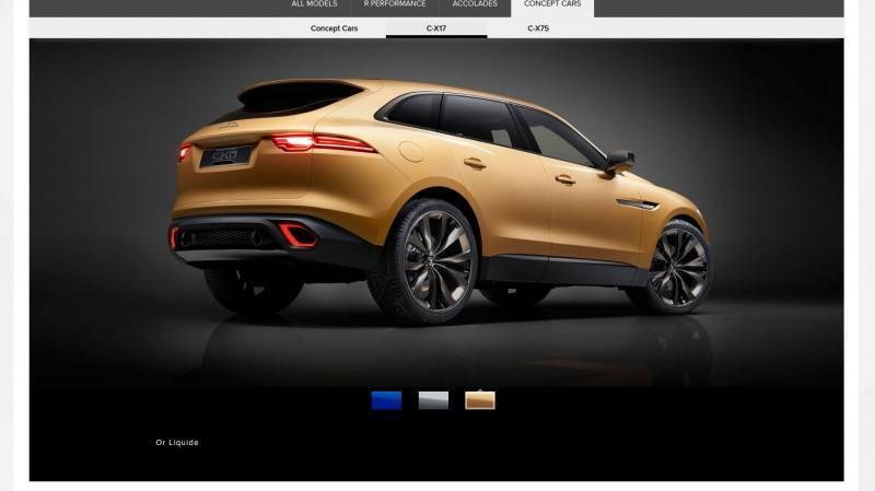 2016 JAGUAR XQ-Type Preview - C-X17 SUV in 150 Photos, 4 Colors 31