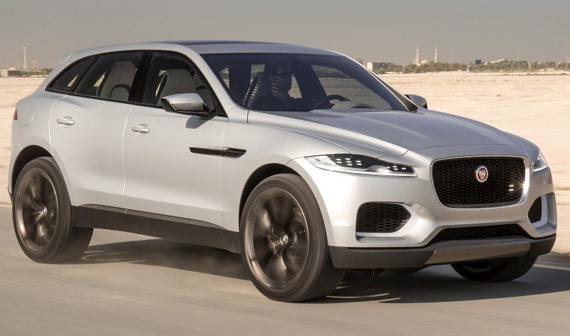 2016 JAGUAR XQ-Type Preview - C-X17 SUV in 150 Photos, 4 Colors 49