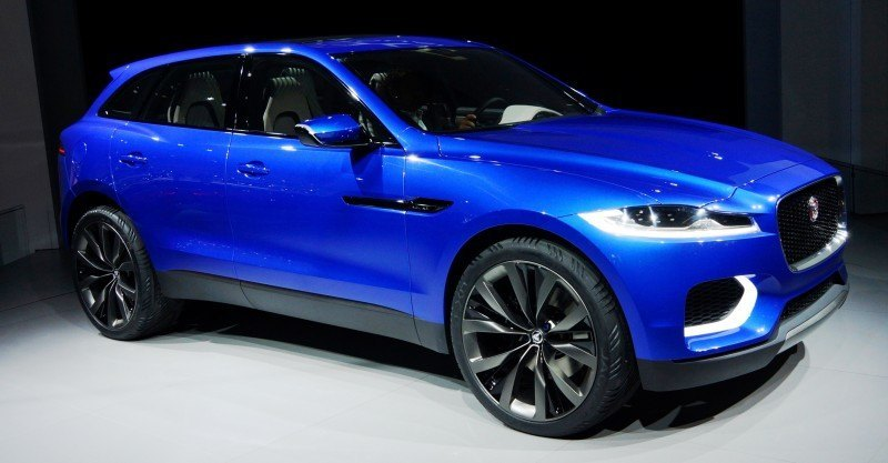 2016 JAGUAR XQ-Type Preview - C-X17 SUV in 150 Photos, 4 Colors 5