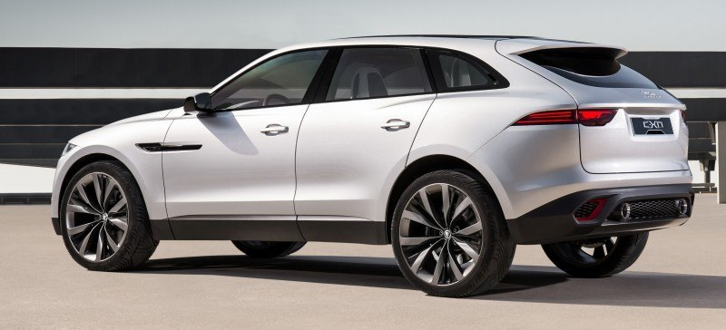 2016 JAGUAR XQ-Type Preview - C-X17 SUV in 150 Photos, 4 Colors 64