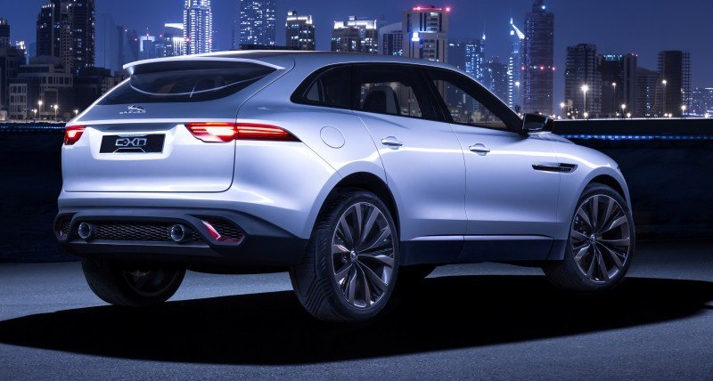 2016 JAGUAR XQ-Type Preview - C-X17 SUV in 150 Photos, 4 Colors 66