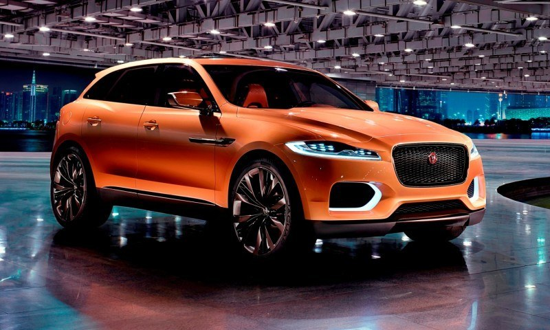 2016 JAGUAR XQ-Type Preview - C-X17 SUV in 150 Photos, 4 Colors 71
