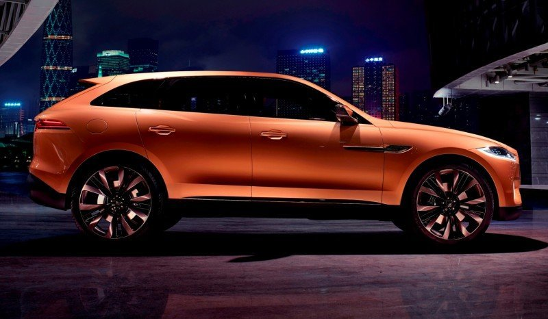 2016 JAGUAR XQ-Type Preview - C-X17 SUV in 150 Photos, 4 Colors 72