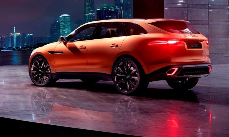 2016 JAGUAR XQ-Type Preview - C-X17 SUV in 150 Photos, 4 Colors 73