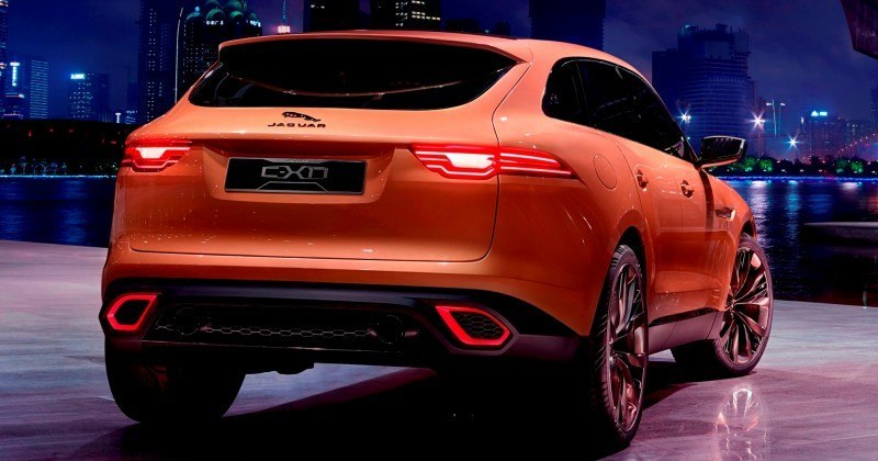 2016 JAGUAR XQ-Type Preview - C-X17 SUV in 150 Photos, 4 Colors 77