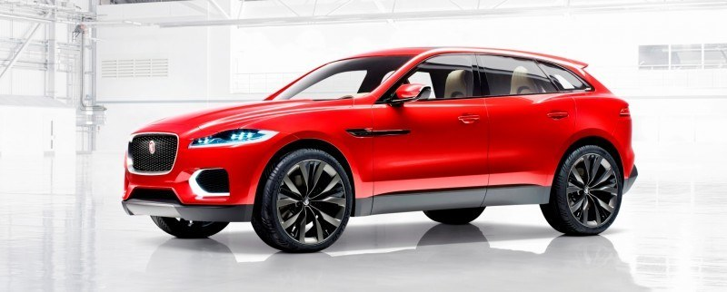 2016 JAGUAR XQ-Type Preview - C-X17 SUV in 150 Photos, 4 Colors 84