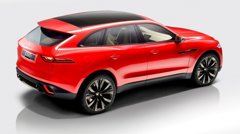 2016 JAGUAR XQ-Type Preview - C-X17 SUV in 150 Photos, 4 Colors 85