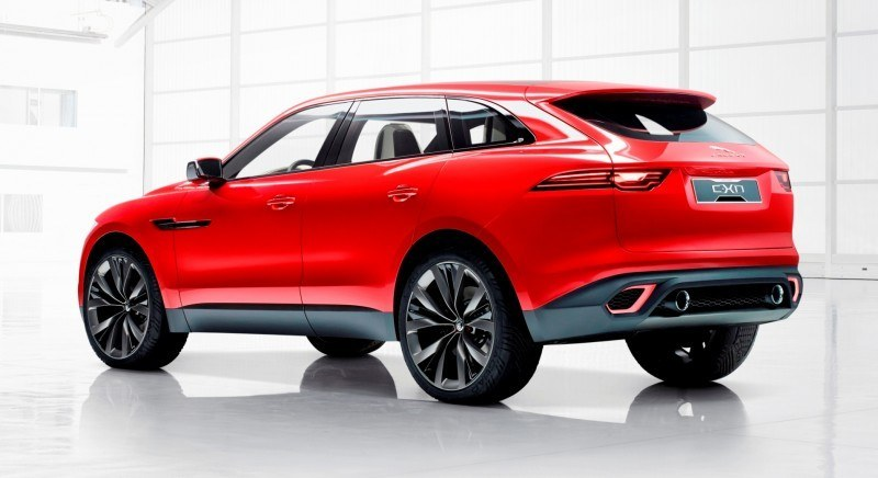 2016 JAGUAR XQ-Type Preview - C-X17 SUV in 150 Photos, 4 Colors 86