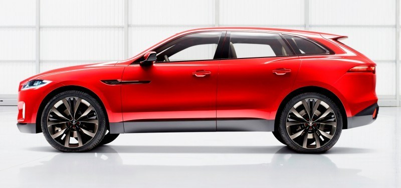 2016 JAGUAR XQ-Type Preview - C-X17 SUV in 150 Photos, 4 Colors 87