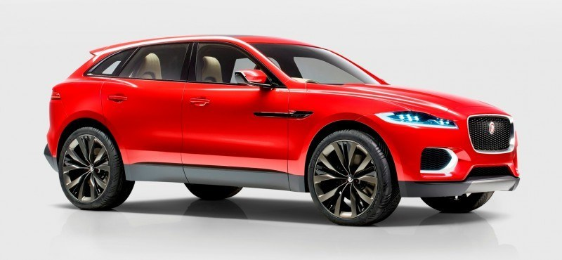 2016 JAGUAR XQ-Type Preview - C-X17 SUV in 150 Photos, 4 Colors 88