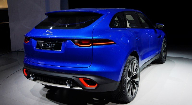 2016 JAGUAR XQ-Type Preview - C-X17 SUV in 150 Photos, 4 Colors 9
