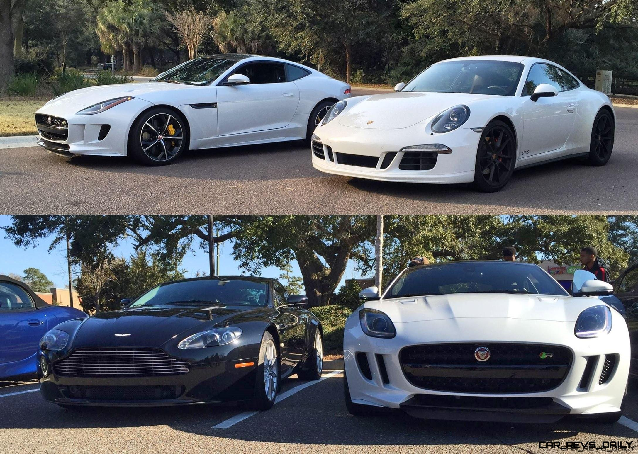 2016 Jaguar F Type Coupe Meets Its Rivals 10 Vert
