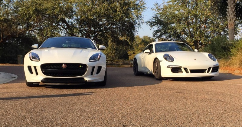 2016 Jaguar F-Type Coupe Meets Its Rivals 11