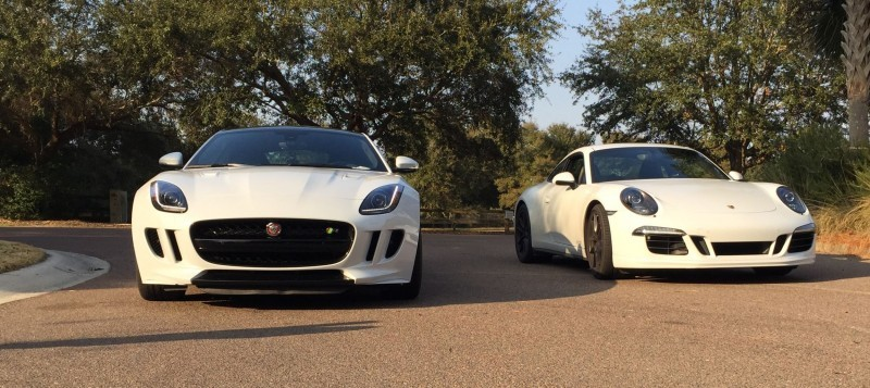 2016 Jaguar F-Type Coupe Meets Its Rivals 3