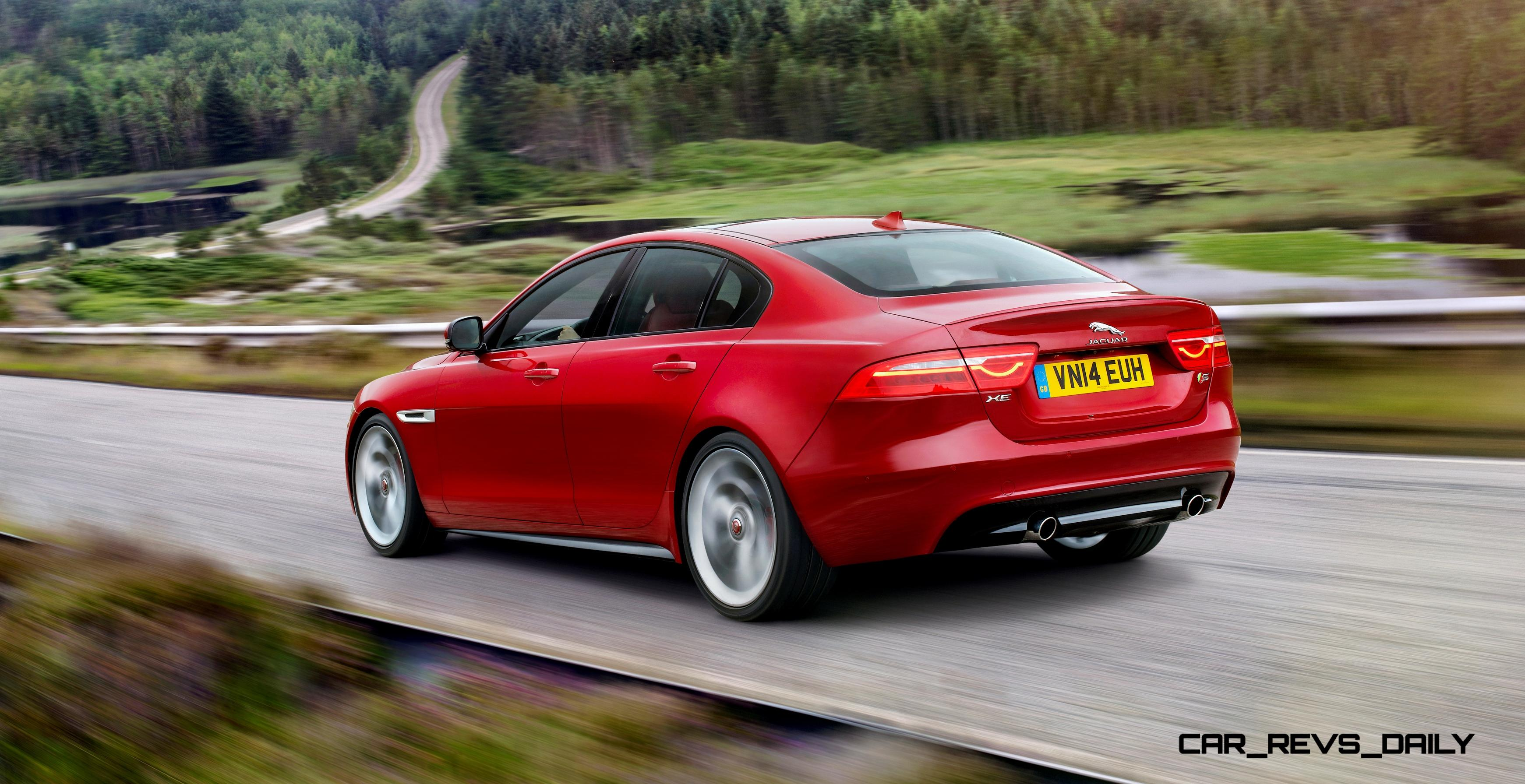 4.9s 2016 Jaguar XE Makes London Debut with 340HP and Rear ...