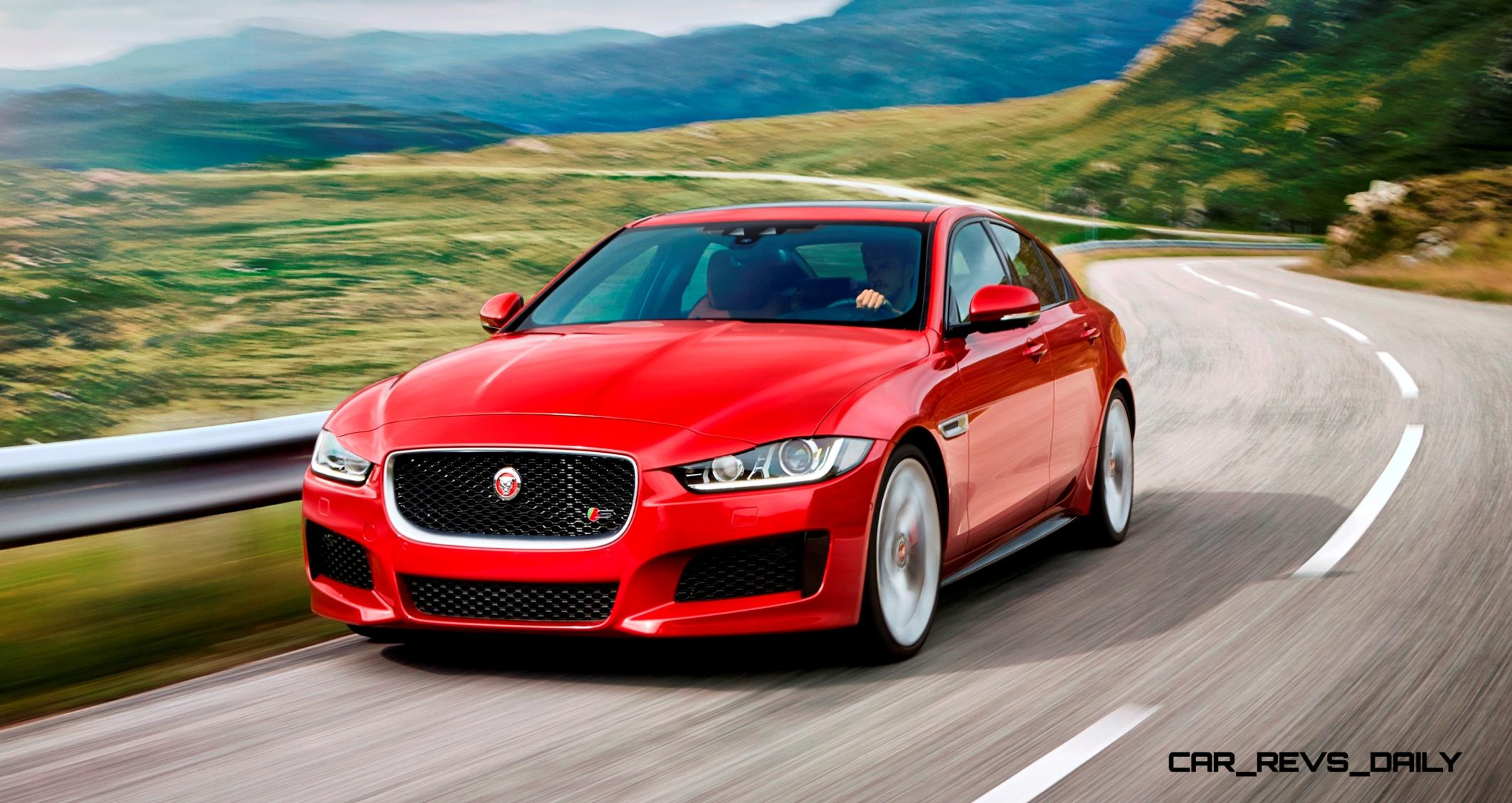 4.9s 2016 Jaguar XE Makes London Debut with 340HP and Rear-Drive Dynamics