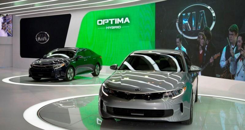 2016 KIA Optima Hybrid 3