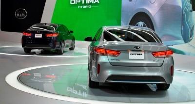 2016 KIA Optima Hybrid 7