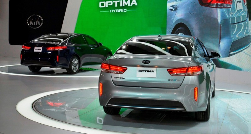 2016 KIA Optima Hybrid 8