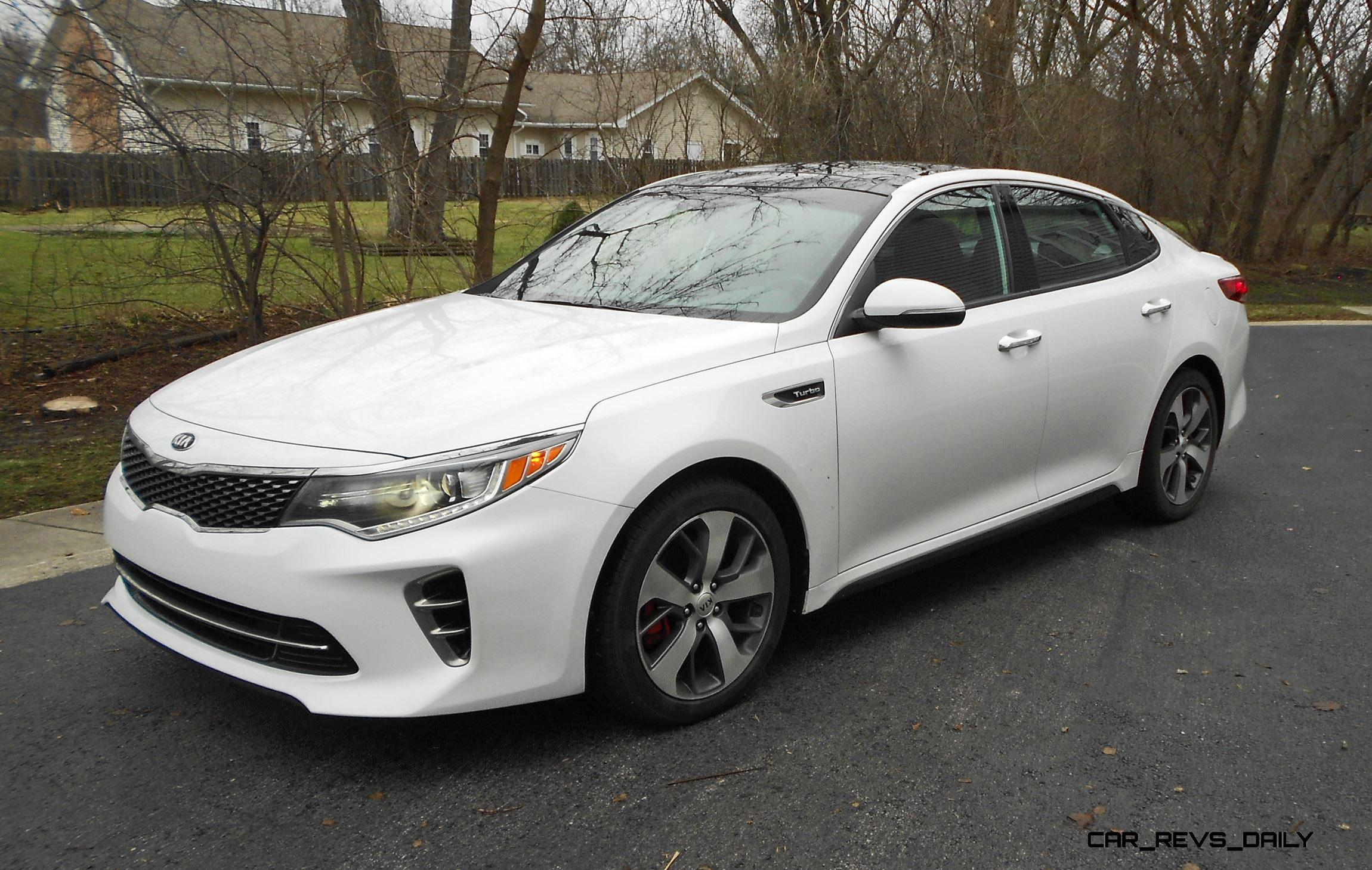 Awesome First Drive Review  2016 Kia Optima SX 20T  By Ben Lewis