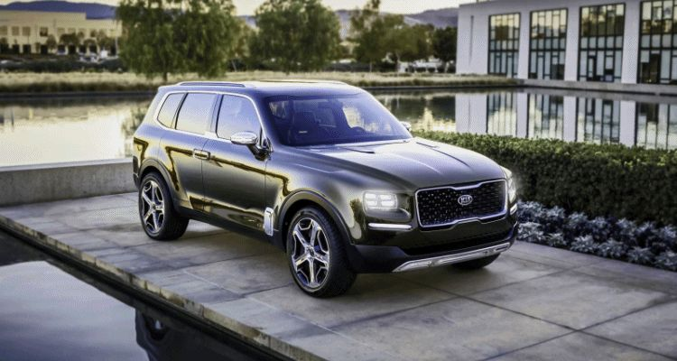 2016 Kia TELLURIDE Concept - LWB SUV Brings 7-Seat Chalet Cachet