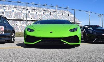 2016 Lamborghini HURACAN Verde Mantis 11