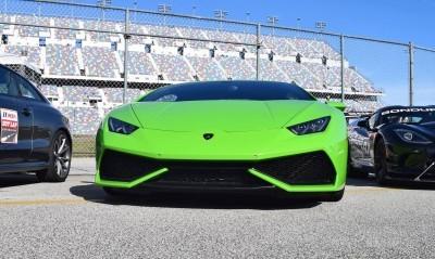 2016 Lamborghini HURACAN Verde Mantis  12