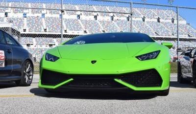 2016 Lamborghini HURACAN Verde Mantis  13