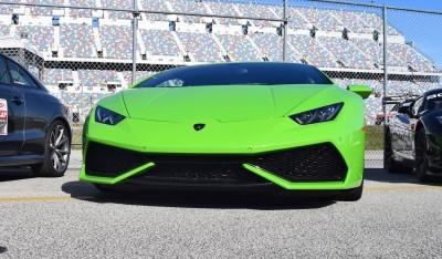 2016 Lamborghini HURACAN Verde Mantis  14
