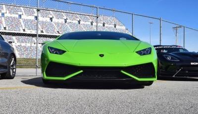 2016 Lamborghini HURACAN Verde Mantis 2