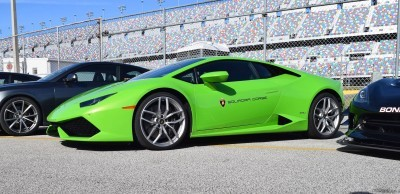 2016 Lamborghini HURACAN Verde Mantis 21
