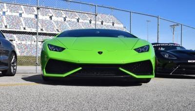 2016 Lamborghini HURACAN Verde Mantis 3