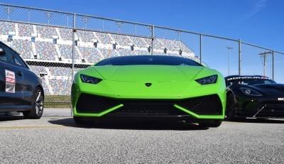 2016 Lamborghini HURACAN Verde Mantis  5