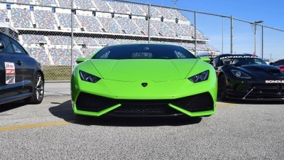 2016 Lamborghini HURACAN Verde Mantis  7