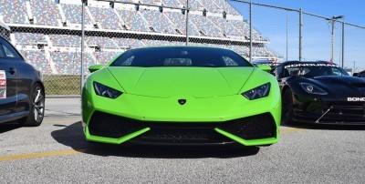 2016 Lamborghini HURACAN Verde Mantis  8
