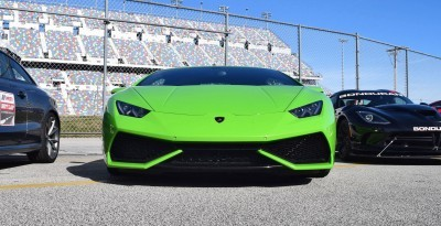 2016 Lamborghini HURACAN Verde Mantis 9