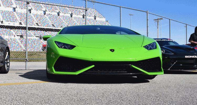 2016 Lamborghini HURACAN Verde Mantis