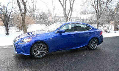 2016 Lexus IS200t F Sport Review Glassman 1