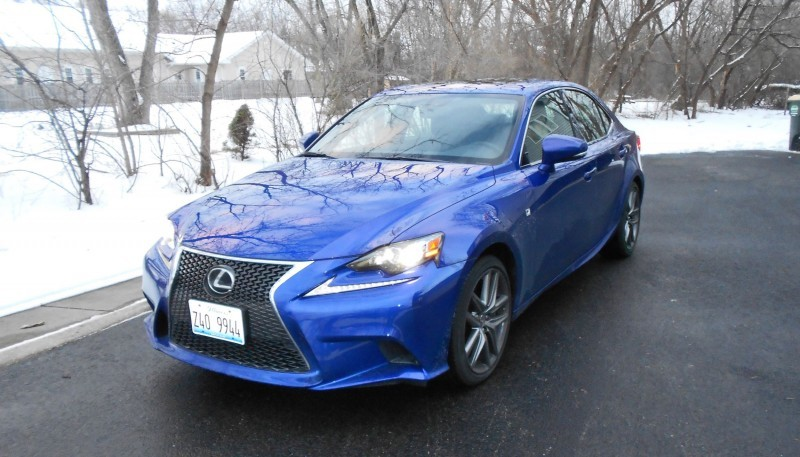 2016 Lexus IS200t F Sport Review Glassman 3