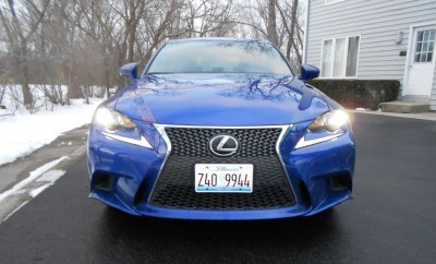 2016 Lexus IS200t F Sport Review Glassman 4