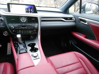 2016 Lexus RX350 AWD F Sport Review 13