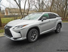 Road Test Review – 2016 Lexus RX350 F Sport AWD