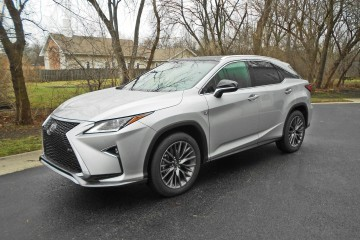 2016 Lexus RX350 AWD F Sport Review 2