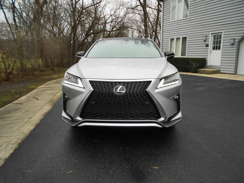 2016 Lexus RX350 AWD F Sport Review 3