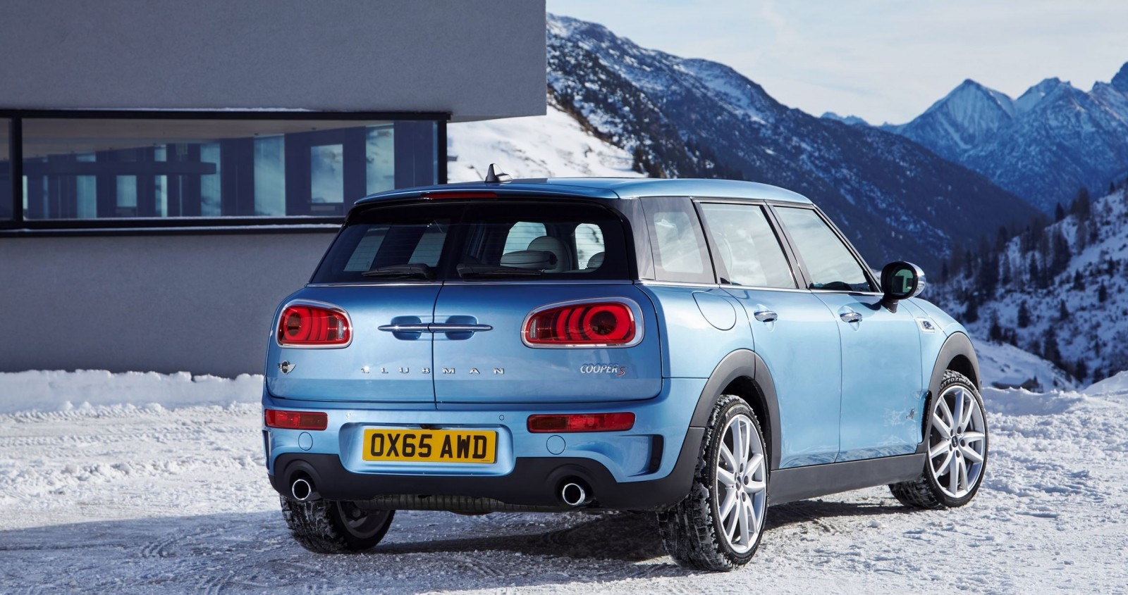2017 mini clubman all4 is new awd lwb cooper s. Black Bedroom Furniture Sets. Home Design Ideas